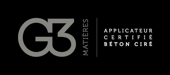 G3 matières - Applicateur certifié en béton ciré